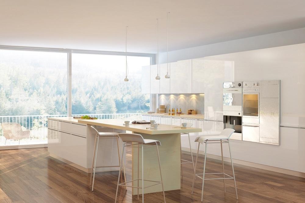 Jak zaaranżować szklane panele kuchenne?
